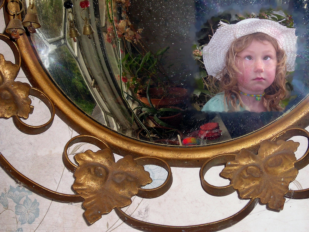Child in a Mirror